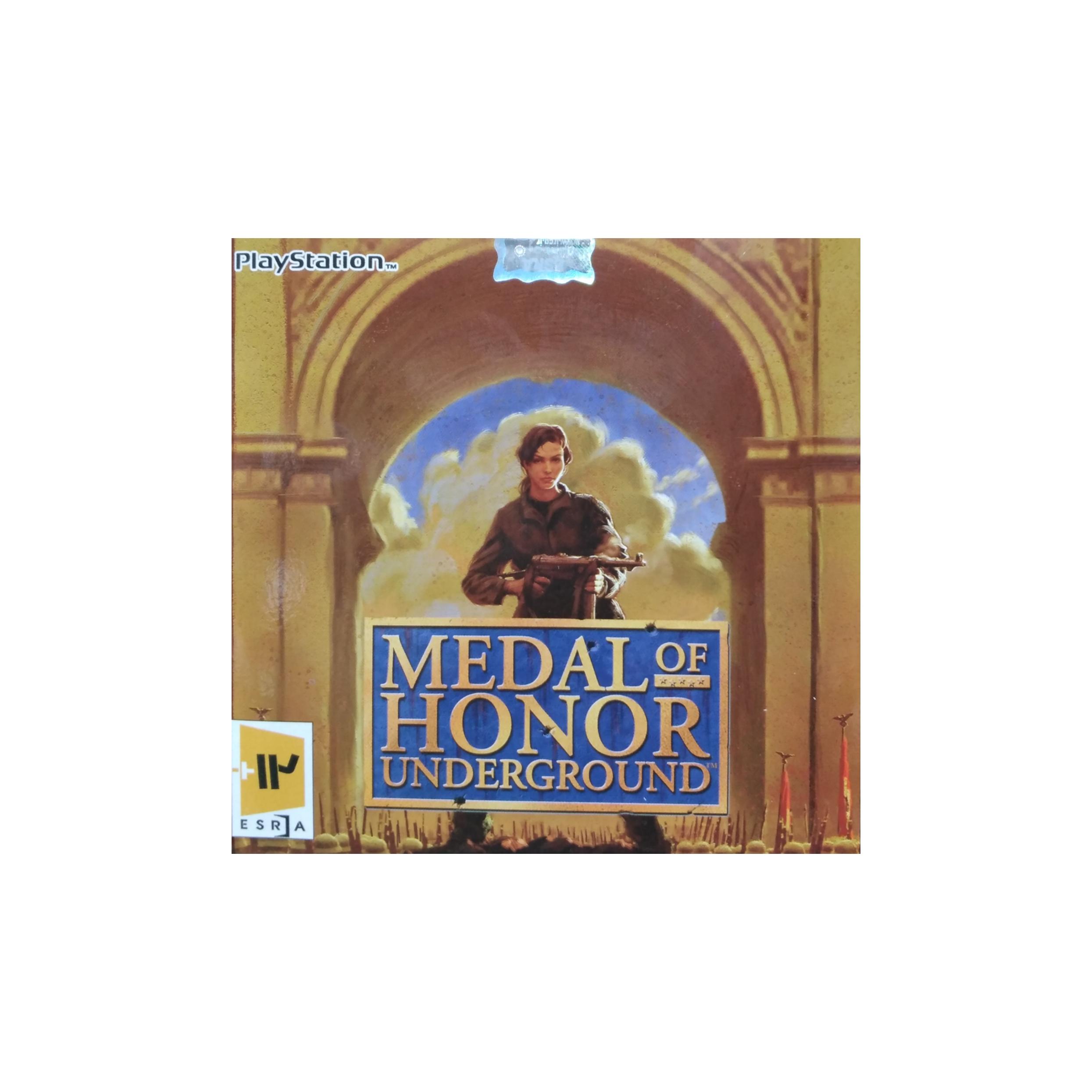 بازی MEDAL OF HONOR مخصوص PS1 نشر لوح زرین