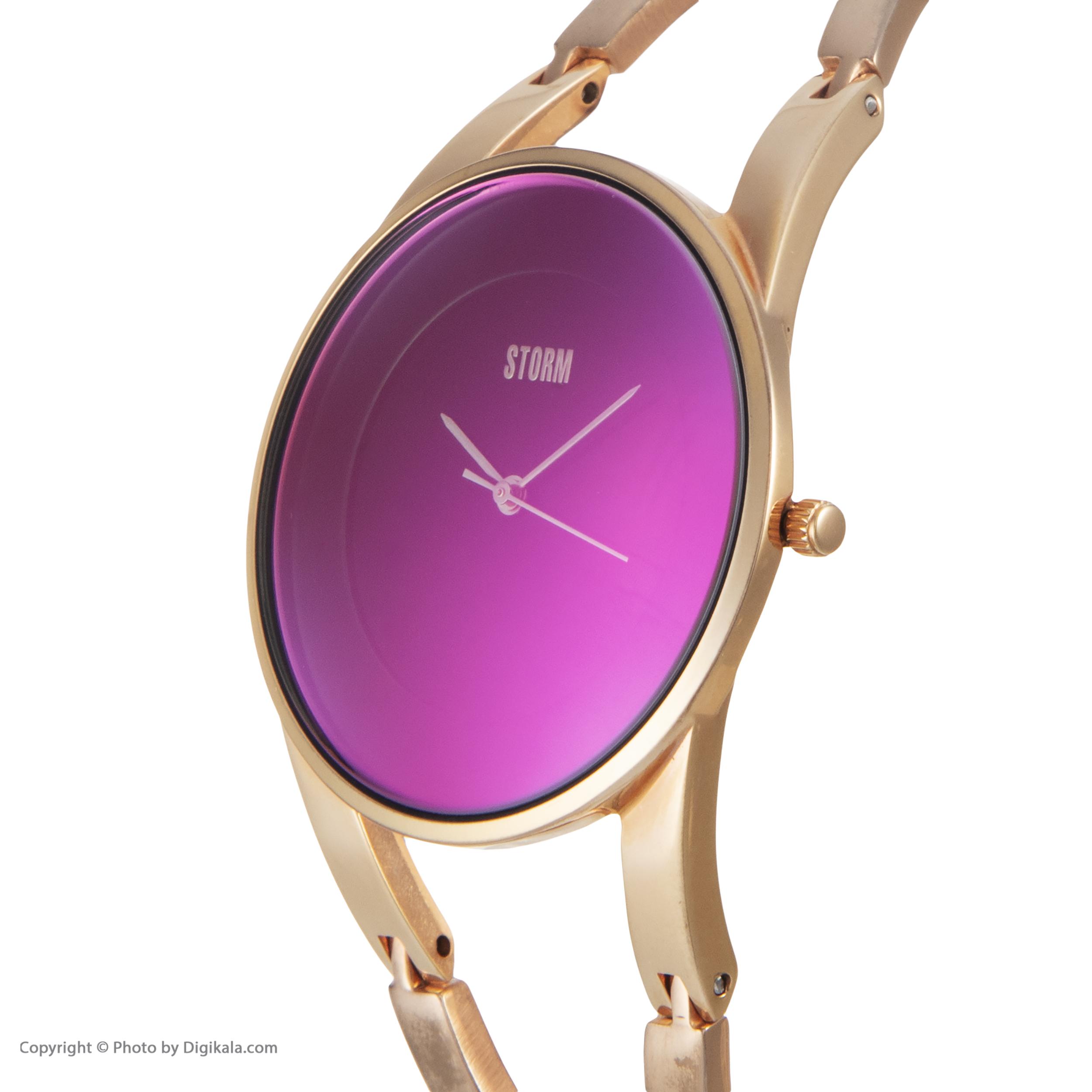 ساعت مچی عقربه ای زنانه استورم مدل ST 47381-P              ارزان