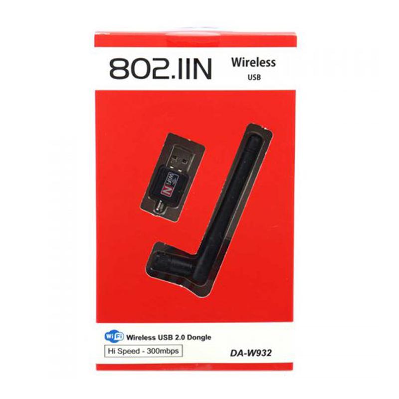 کارت شبکه USB بی سیم مدل DA-W932