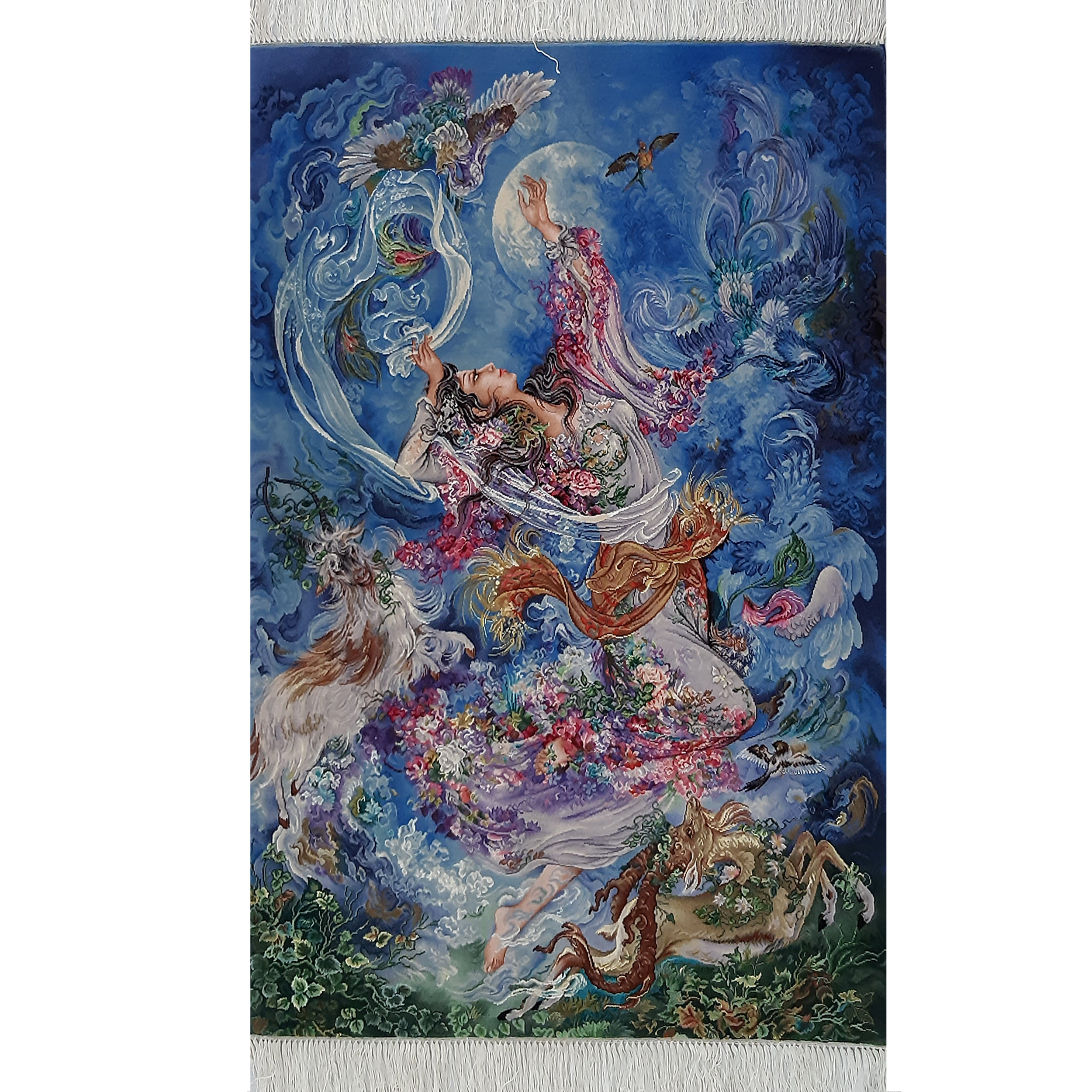 Handmade Persian carpet tableau, code 239