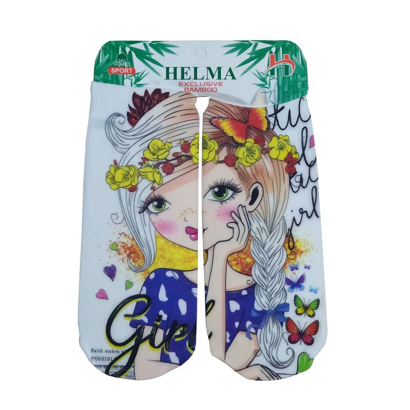 جوراب دخترانه هلما کد 01