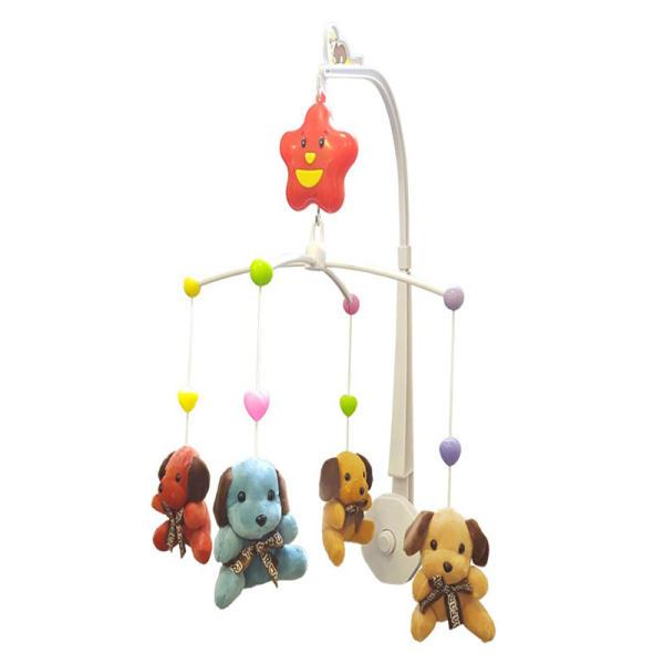 آویز تخت کودک مدل Happy Shaking Bell کد 2107