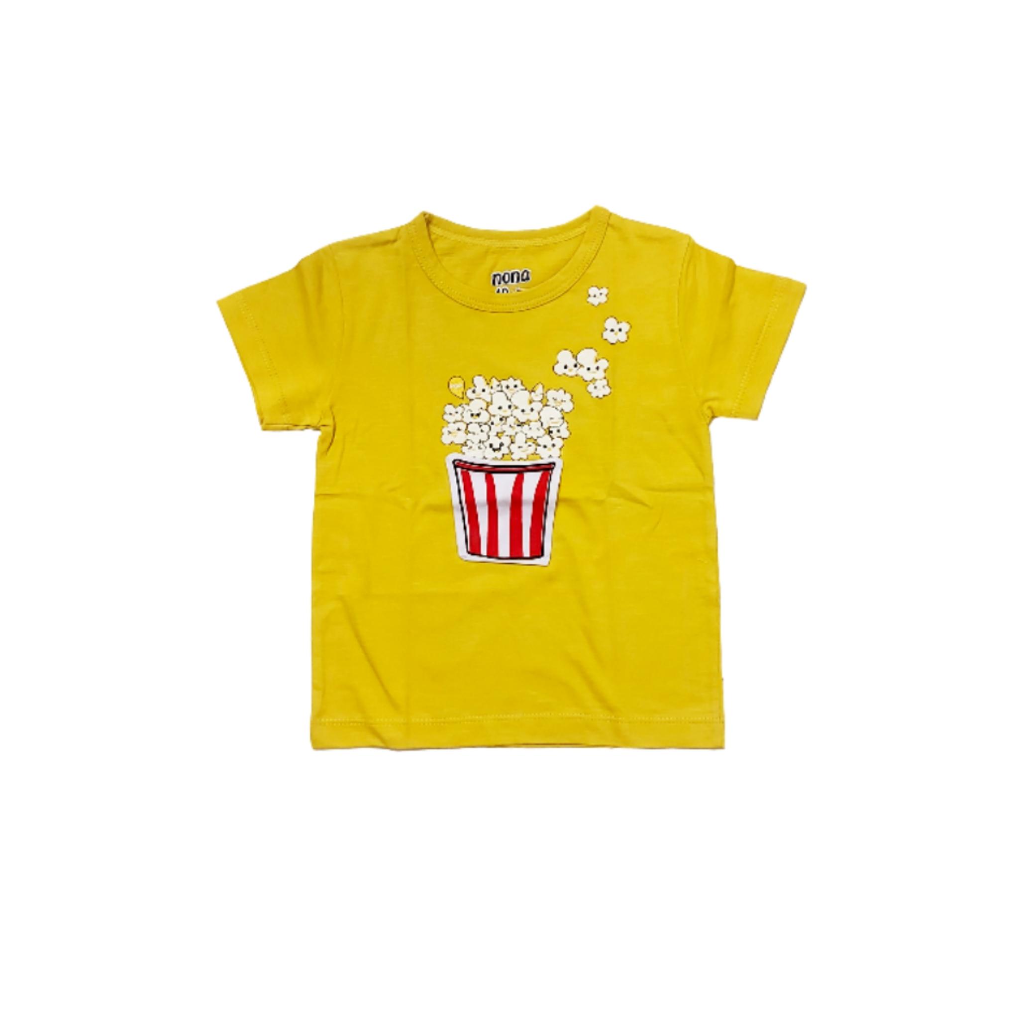 تی شرت آستین کوتاه بچگانه مدل پاپ کورن کد 0117
