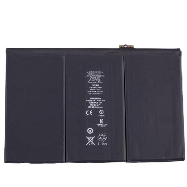 باتری تبلت مدل A1389 ظرفیت 11560 میلی آمپرساعت مناسب برای تبلت اپل iPad 3