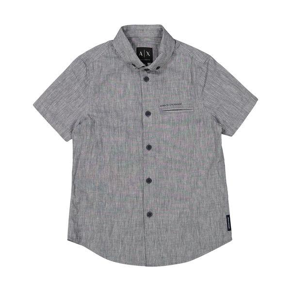 پیراهن پسرانه آرمانی اکسچنج مدل 3ZKC53Z1AKZ-2538