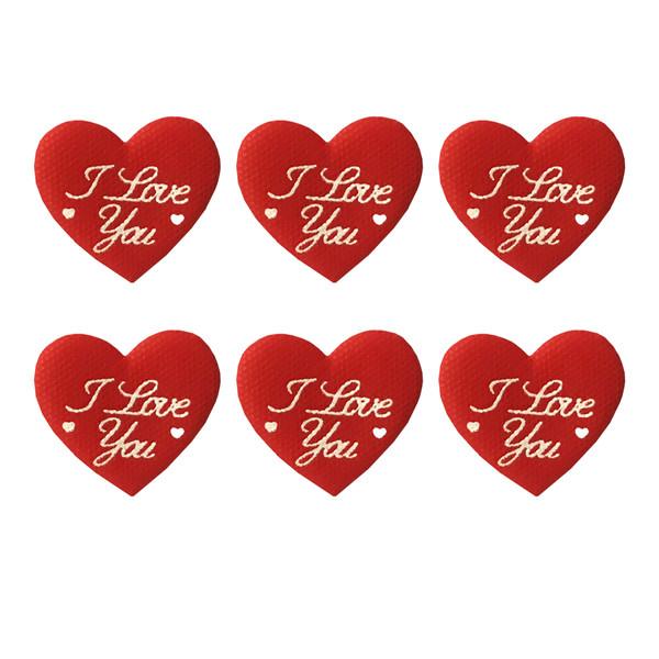 ابزار کادویی طرح قلب بسته 6 عددی