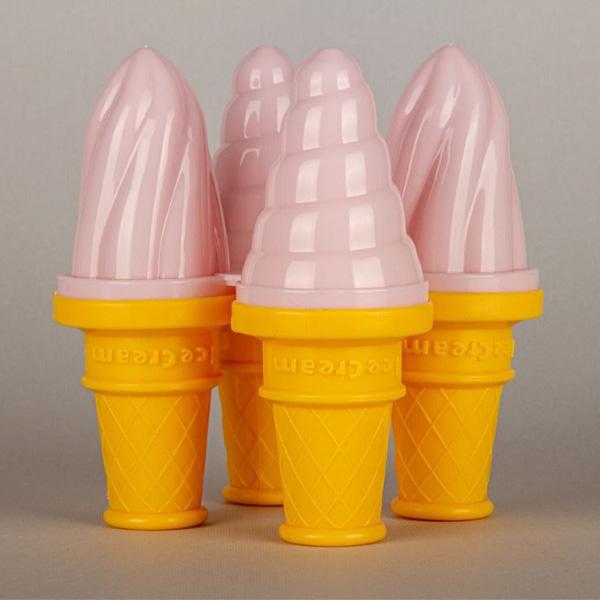 قالب بستنی مدل بستنی قیفی مجموعه 4 عددی