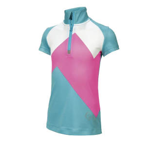 تی شرت آستین کوتاه ورزشی دخترانه کرویت مدل cyc01
