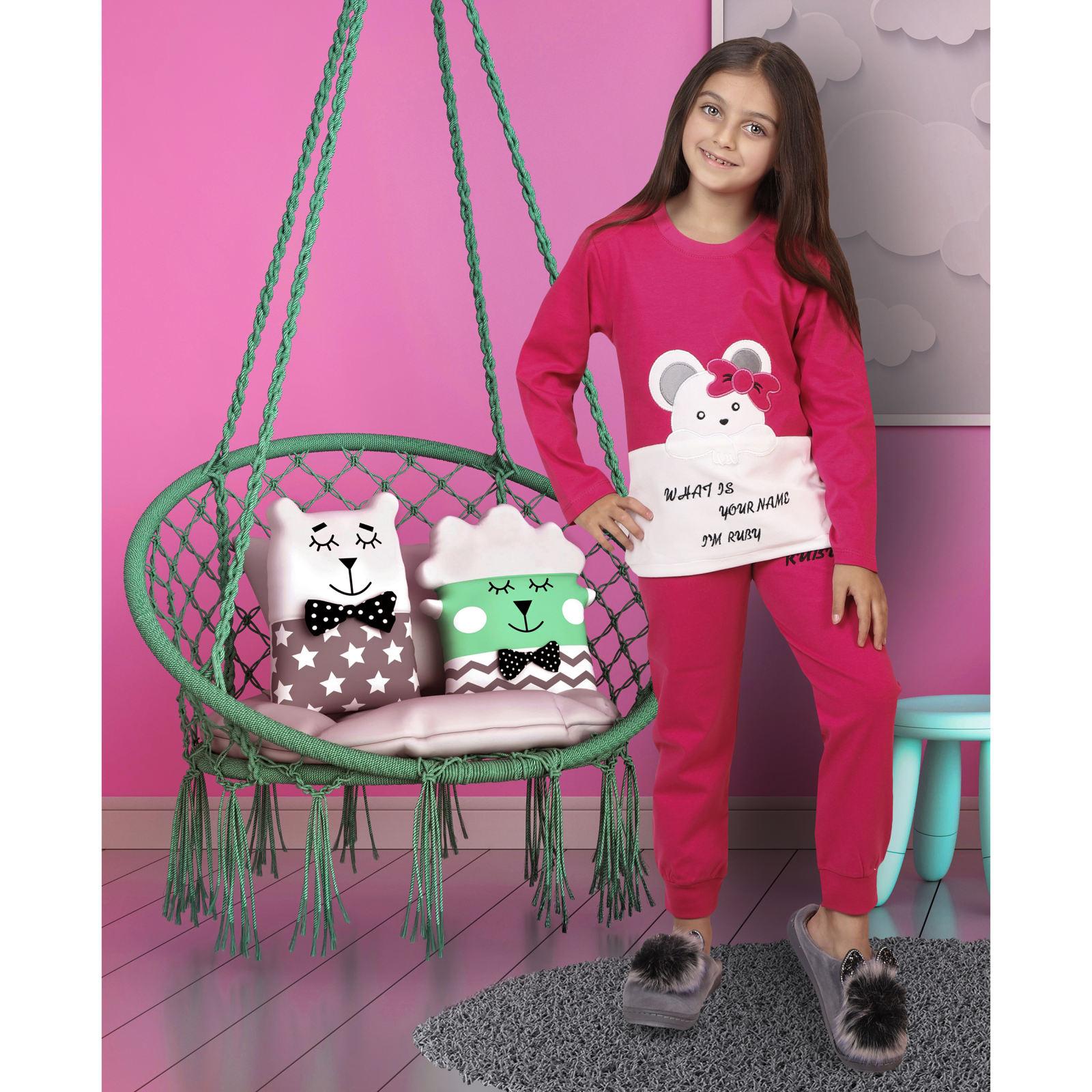 ست تی شرت و شلوار دخترانه مادر مدل 301-66 main 1 8