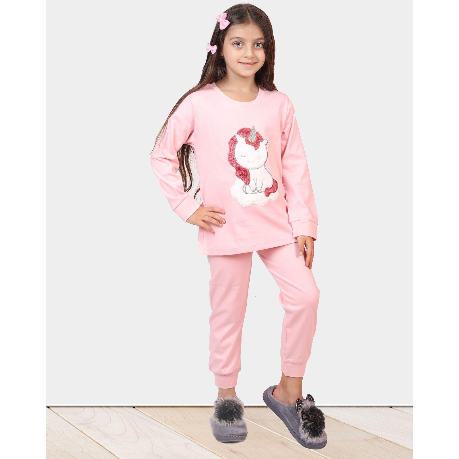 ست تی شرت و شلوار دخترانه مادر مدل 303-84 main 1 12