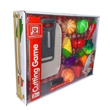 ست اسباب بازی مدل برش میوه کد 2291