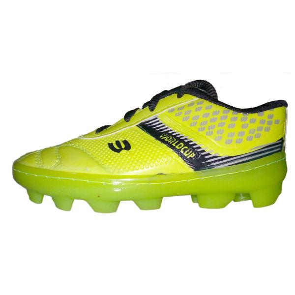 کفش فوتبال پسرانه مدل چمنی کد 001 رنگ سبز فسفری غیر اصل