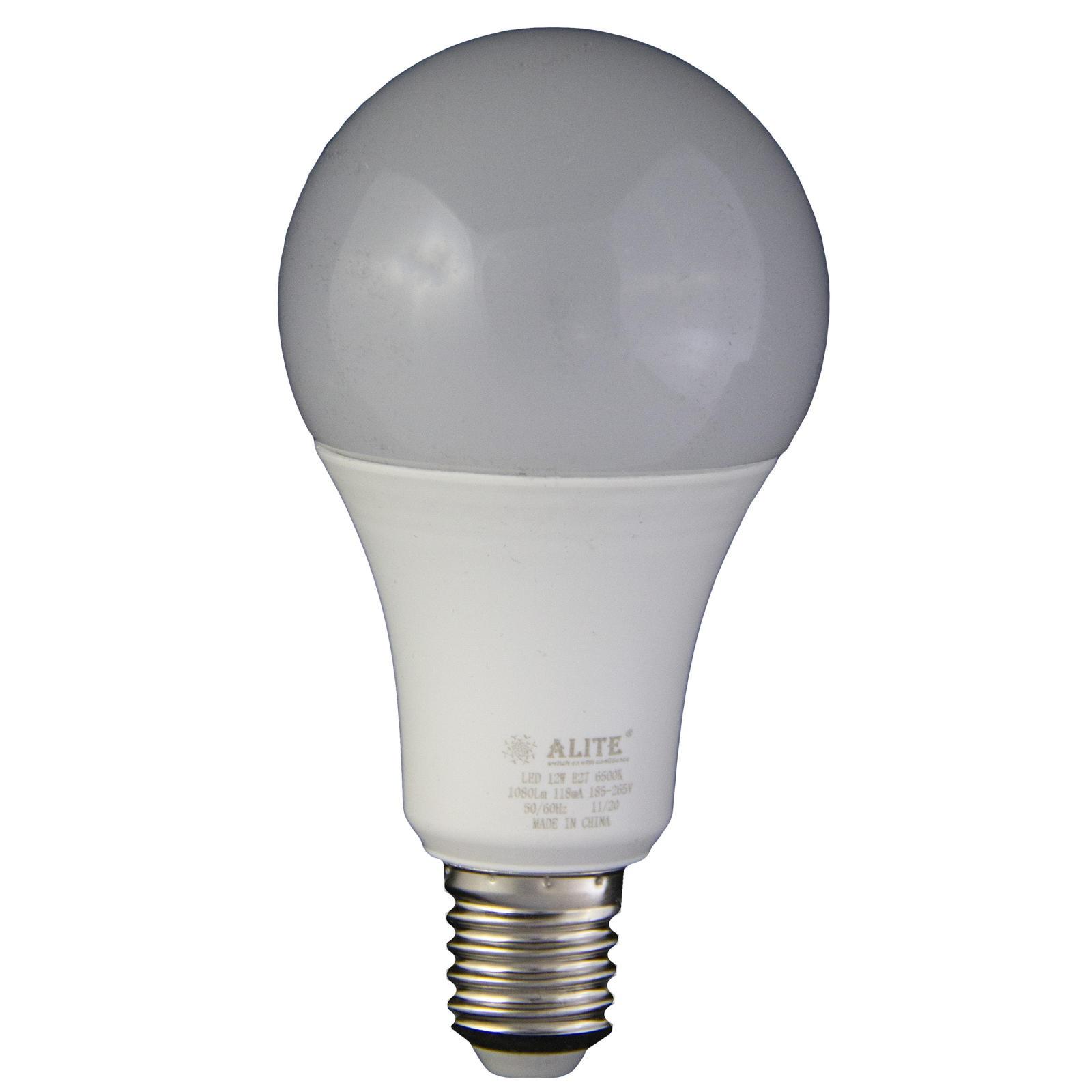 لامپ ال ای دی 12 وات ای لایت مدل A65 پایه E27