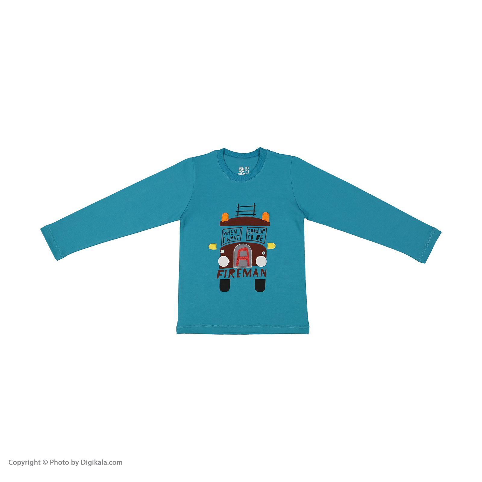 تی شرت پسرانه سون پون مدل 1391363-52 -  - 3