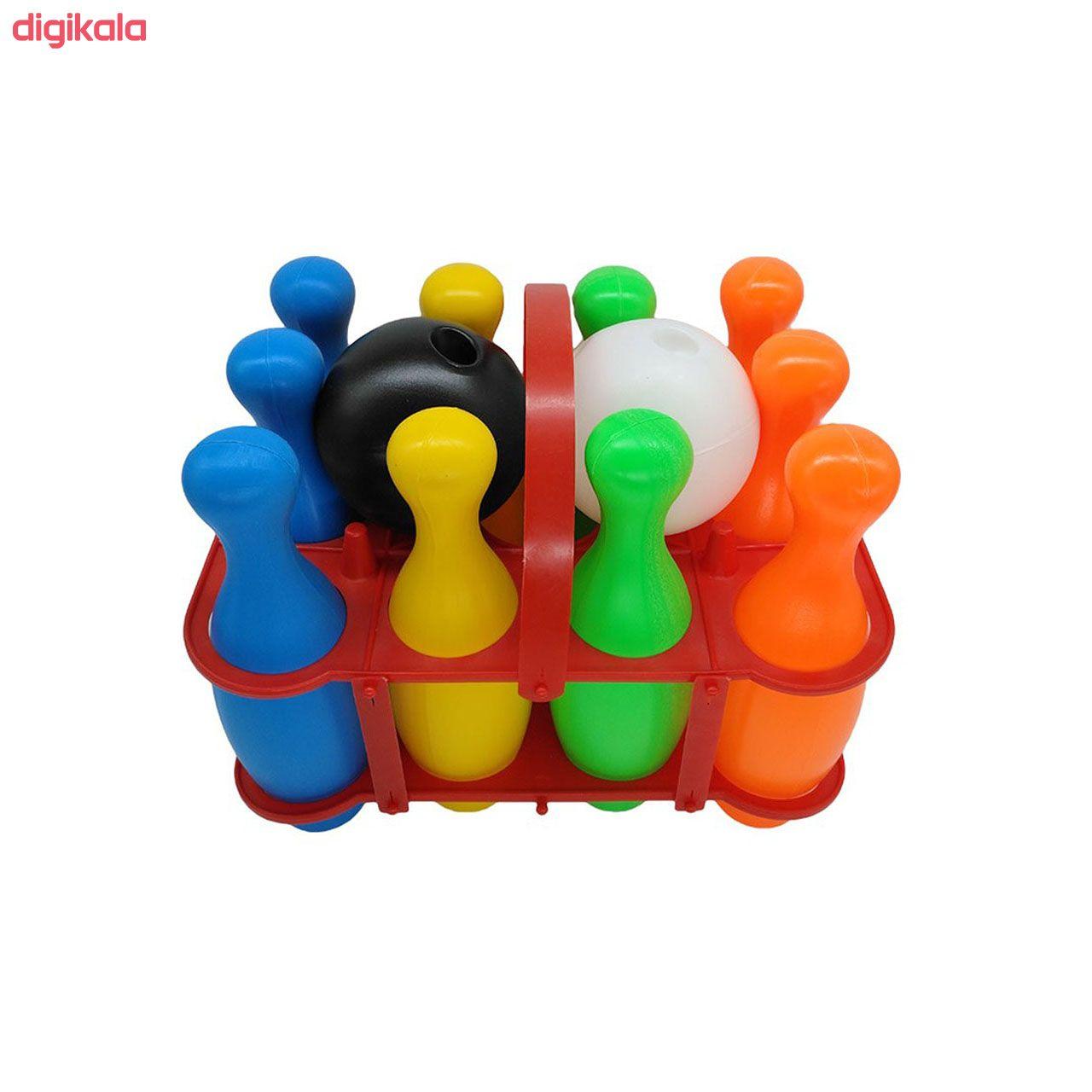 اسباب بازی ست بولینگ کیدتونز کد KTN-025 main 1 1