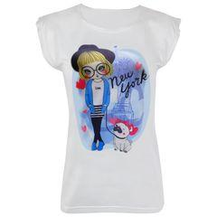 تی شرت زنانه ماییلدا مدل 3522-15