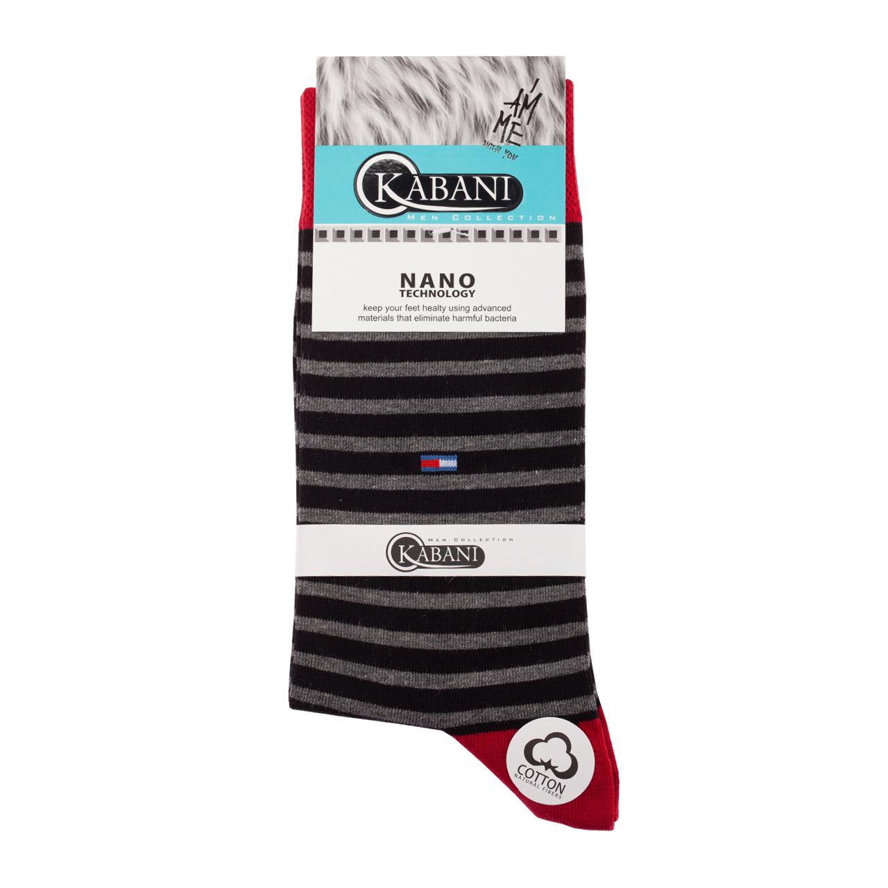 جوراب مردانه کابانی مدل T2020