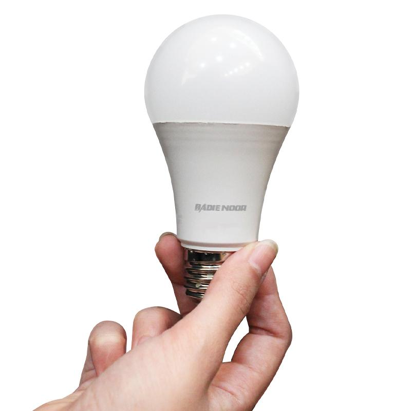 لامپ ال ای دی 10 وات بدیع نور مدل B1011 پایه E27 بسته 3 عددی