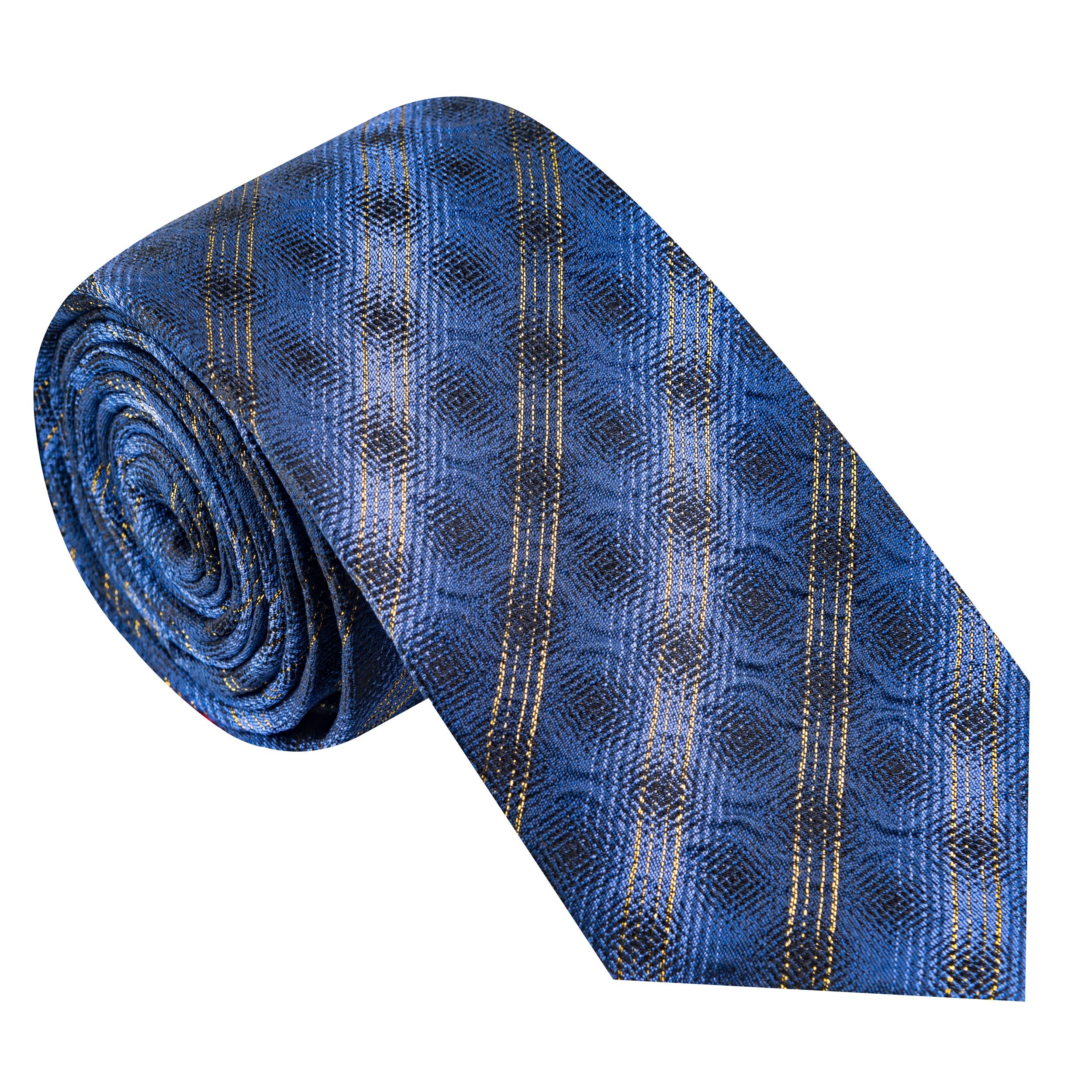 کراوات مردانه جیان فرانکو روسی مدل GF-ST452-BL