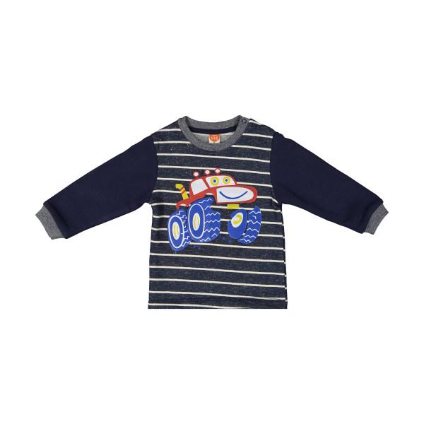 سویشرت نوزادی پسرانه کوتون مدل 0YMB18706OK