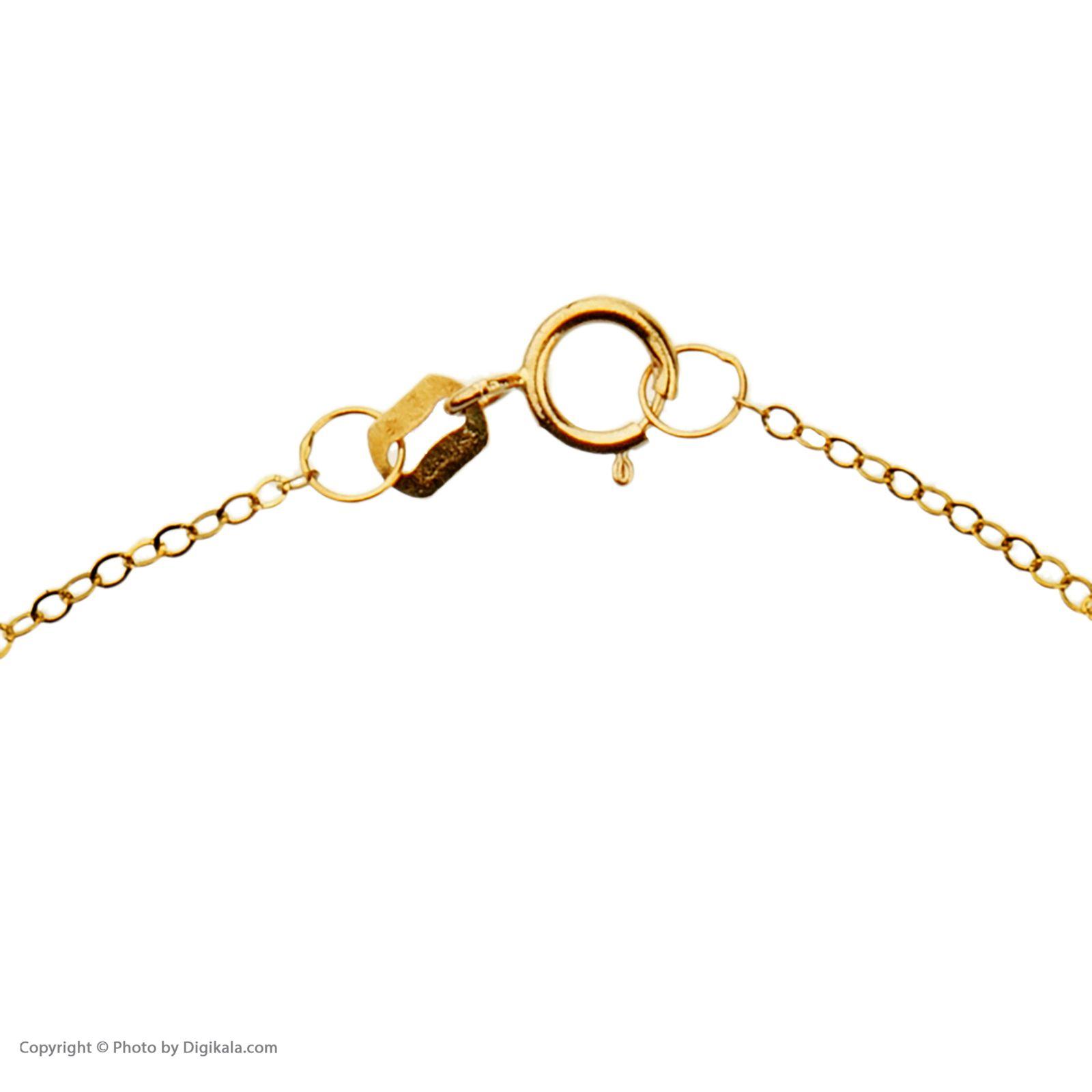 دستبند طلا 18 عیار زنانه میو گلد مدل GD605 -  - 5