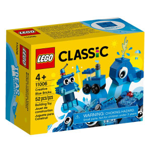 لگو سری Classic مدل Creative Blue Bricks 11006