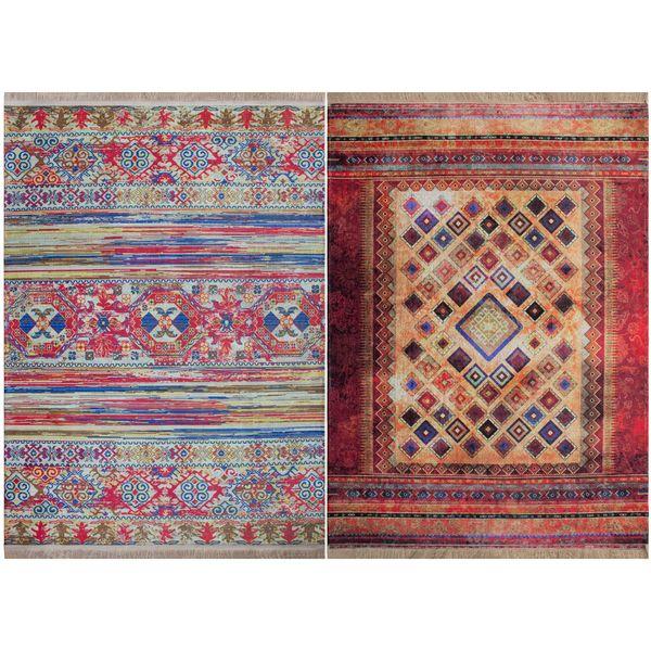 فرش ماشینی دو رو نیروانا مدل Aryanam