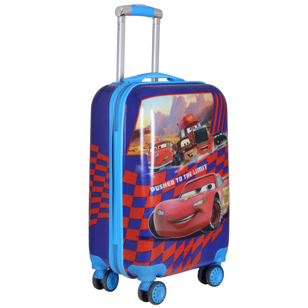چمدان کودک طرح مک کویین کد 037
