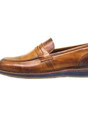 کفش روزمره مردانه چرم آرا مدل sh025  -  - 1