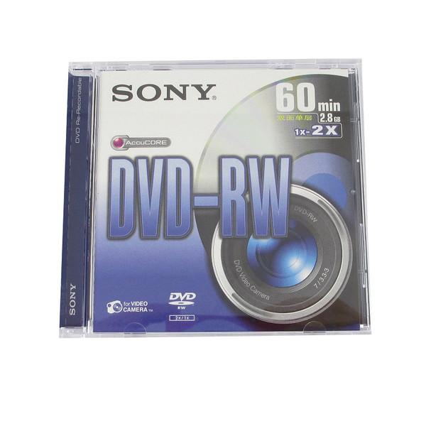 دی وی دی خام سونی مدل RW کد 12536