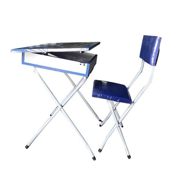 ست میز تحریر و صندلی مدل دخترانه کد 3005