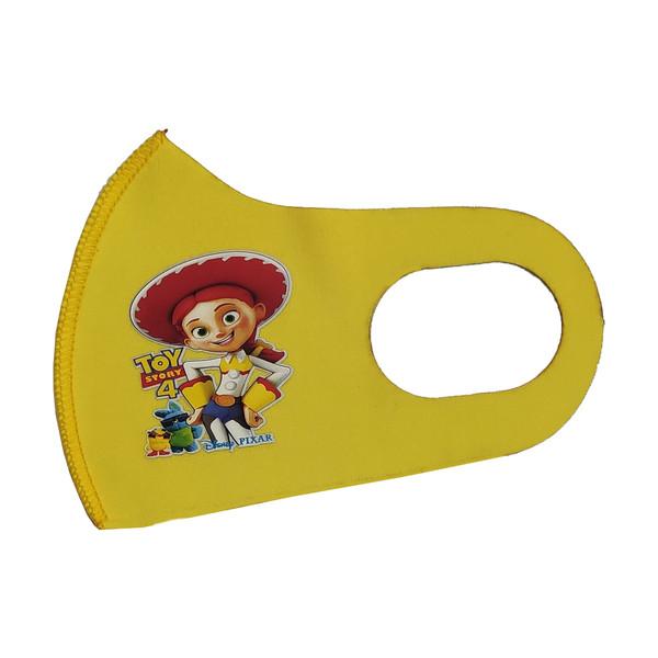 ماسک تزیینی صورت بچگانه طرح TOY STORY کد 30692 رنگ زرد
