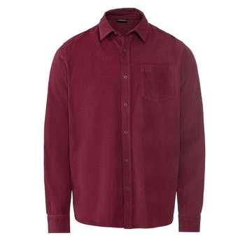 پیراهن آستین بلند مردانه لیورجی مدل 3334472 رنگ قرمز