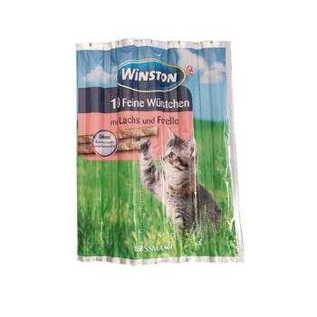 تشویقی گربه وینستون مدل Mit Lachs & Forelle بسته 5 عددی
