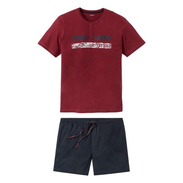 ست تی شرت و شلوارک مردانه لیورجی مدل WER75987