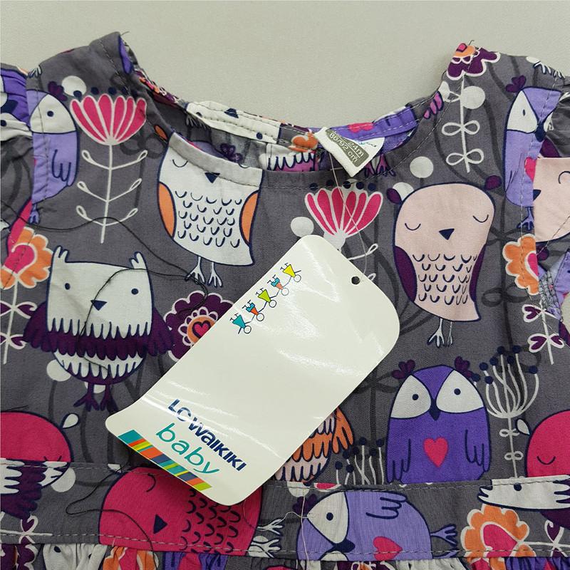 پیراهن دخترانه ال سی وایکیکی کد L01