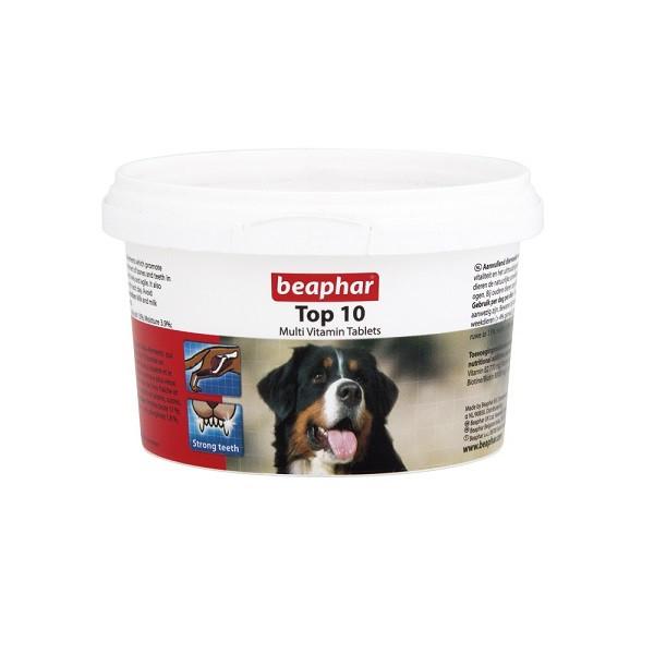 قرص مولتی ویتامین سگ بیفار مدل TOP 10بسته ۱۸۰ عددی