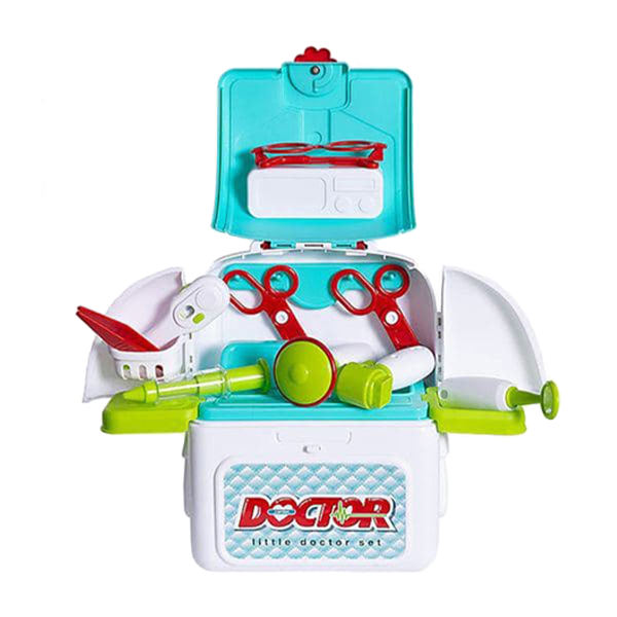 ست اسباب بازی تجهیزات پزشکی مدل Xiong Cheng Doctor Play Set