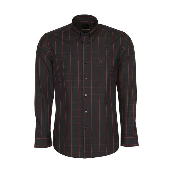 پیراهن آستین بلند مردانه مدل NO.5