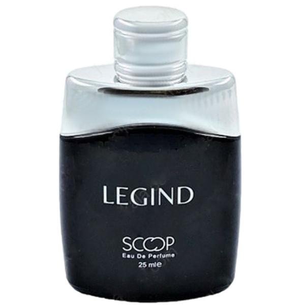 عطر جیبی مردانه اسکوپ مدل Legind حجم 25 میلی لیتر