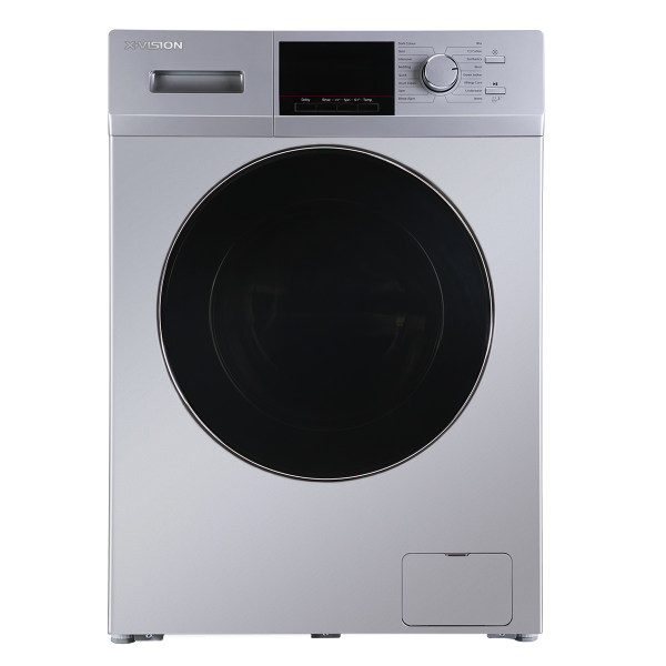 ماشین لباسشویی ایکس ویژن مدل XTW-804BI ظرفیت 8 کیلوگرم
