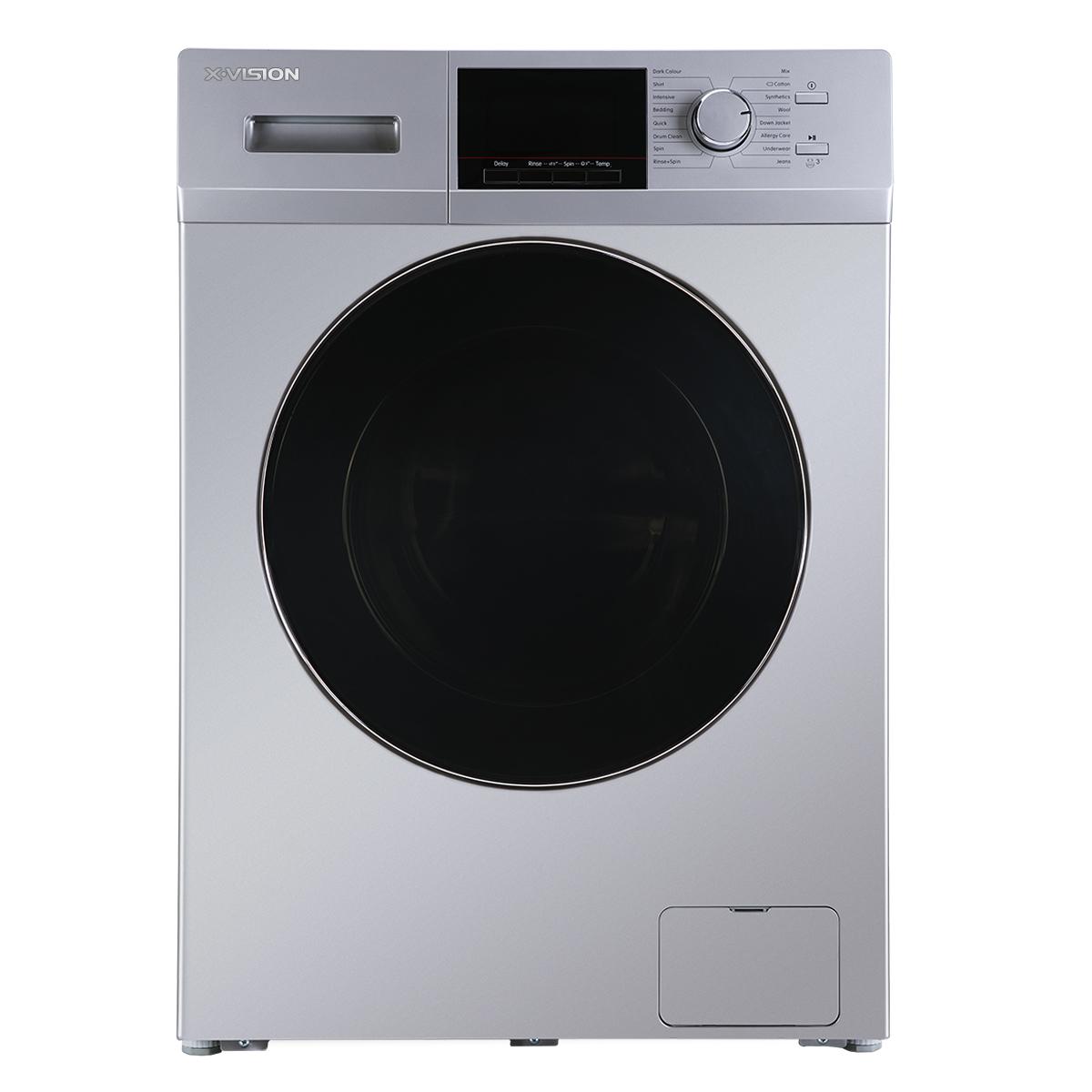 ماشین لباسشویی ایکس ویژن مدل XTW-904BI ظرفیت 9 کیلوگرم