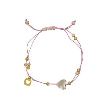 دستبند طلا 18 عیار زنانه آلند کد TD105