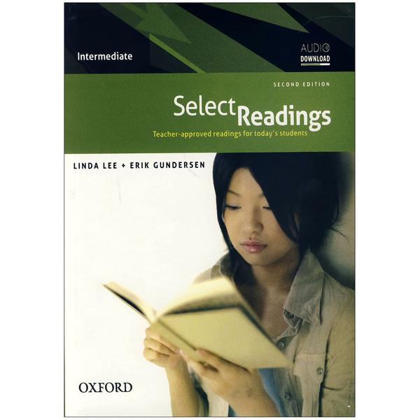کتاب Select Readings intermediate 2nd اثر Erik Gundersen انتشارات آکسفورد