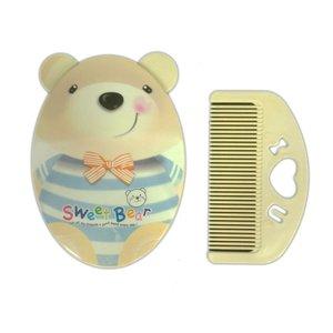 ست شانه و برس کودک مدل خرس کد ZK-800