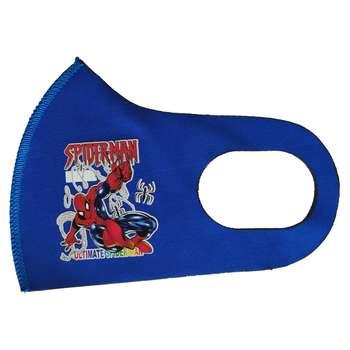 ماسک تزیینی بچگانه طرح مرد عنکبوتی کد 30643 رنگ آبی