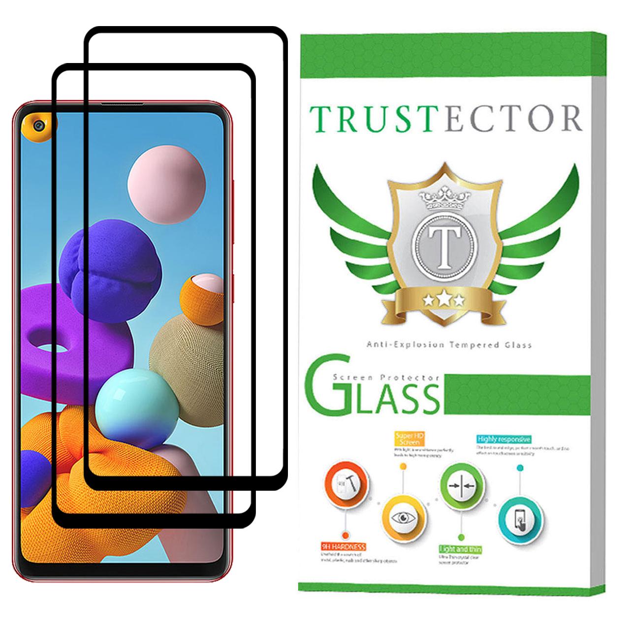 محافظ صفحه نمایش تراستکتور مدل GSS مناسب برای گوشی سامسونگ Galaxy A21s بسته 2 عددی              ( قیمت و خرید)