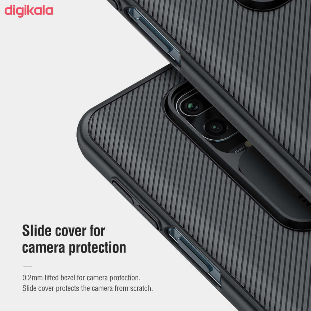 کاور نیلکین مدل CamShield مناسب برای گوشی موبایل  شیائومی Redmi Note 9 Pro / Redmi Note 9 Pro Max/ Redmi Note 9s main 1 4