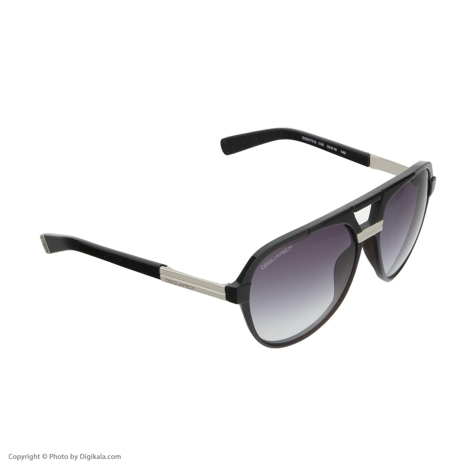 عینک آفتابی  دیسکوارد مدل 0070 -  - 3