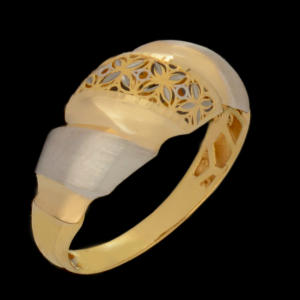 انگشتر طلا 18 عیار زنانه مدل 67132